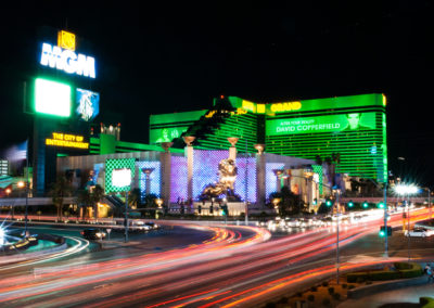 Movement at the MGM Grand